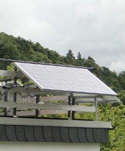 photovoltaik kleinanlage